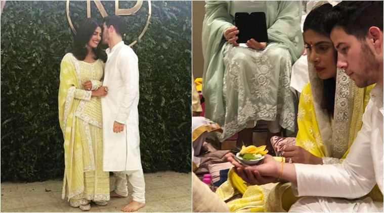 Priyanka Chopra & Nick Jonas Engagement Ceremony (Pictures and Details)
