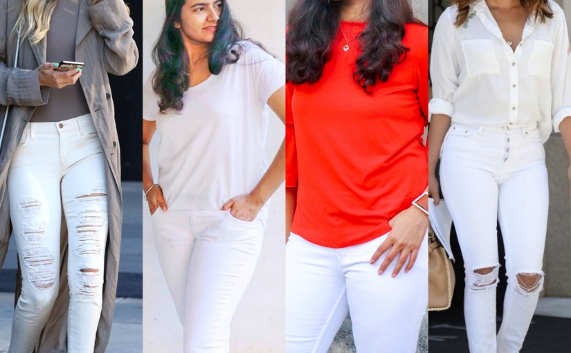 White Jeans OutfitIdeas